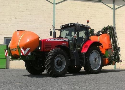 tracteur agricole   massey ferguson mf 6485   pulve ama