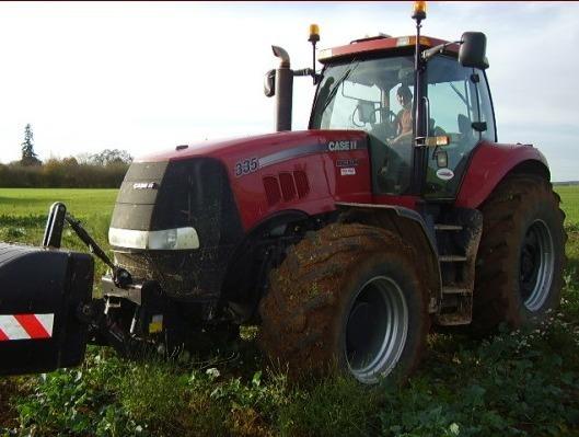 Tracteur agricole case ih magnum 335 for Case agricole