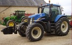 Tracteur agricole : New Holland TG 255