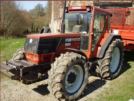 Tracteur agricole Fiat F 115
