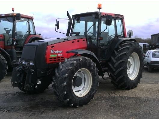 Tracteur agricole Valmet 8450