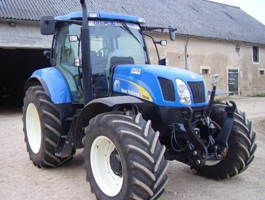 Tracteur agricole : New Holland T 6080
