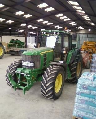 Tracteur agricole : John Deere 6930 Premium