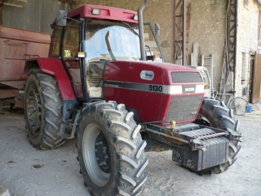 tracteur agricole   case ih 5130 maxxum