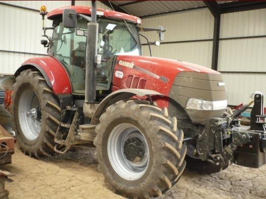 Tracteur agricole : Case IH Puma 180