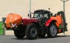 Tracteur agricole : Massey Ferguson MF 6485 + PULVE AMA