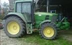 Tracteur agricole : John Deere 6830 Premium