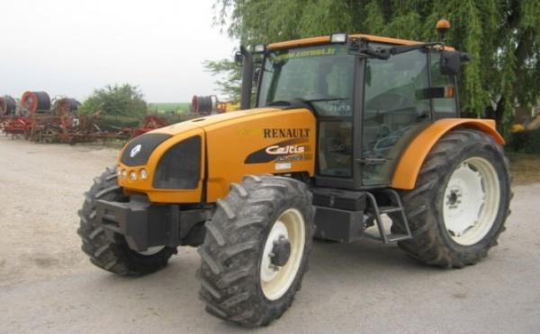 Tracteur agricole : Renault CELTIS 456 RX